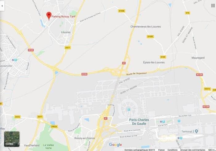 google-map-parking-roissy-tarif-comp